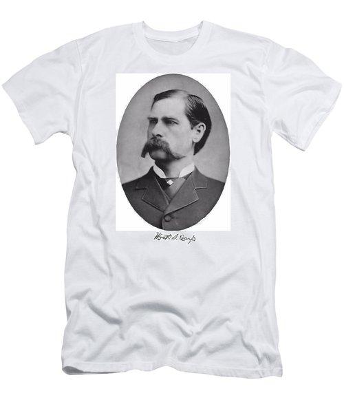 Wyatt Earp Autographed Men's T-Shirt (Athletic Fit)