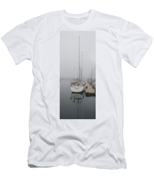Yacht Doesn't Go In The Fog Men's T-Shirt (Athletic Fit)