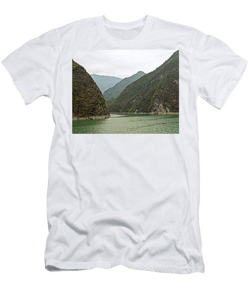 Yangtze Gorge Men's T-Shirt (Athletic Fit)