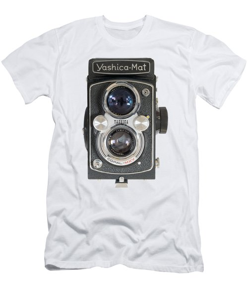 Yashica Mat Twin Lens Reflex Men's T-Shirt (Athletic Fit)