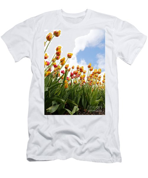 Men's T-Shirt (Slim Fit) featuring the photograph Yellow Fever by Robert Pearson