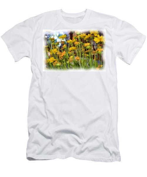 Yellow Fields Men's T-Shirt (Athletic Fit)