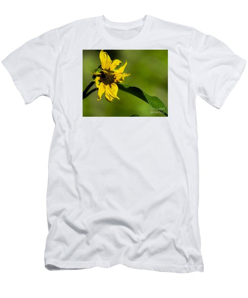 Yellow Flower 1 Men's T-Shirt (Athletic Fit)