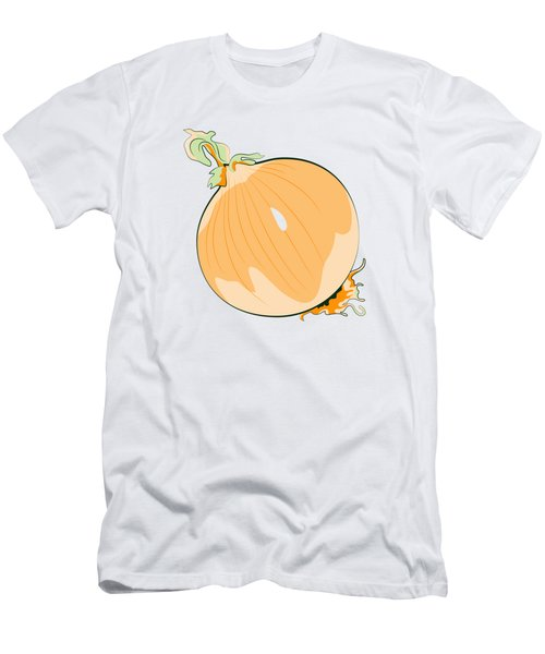 Yellow Onion Men's T-Shirt (Athletic Fit)