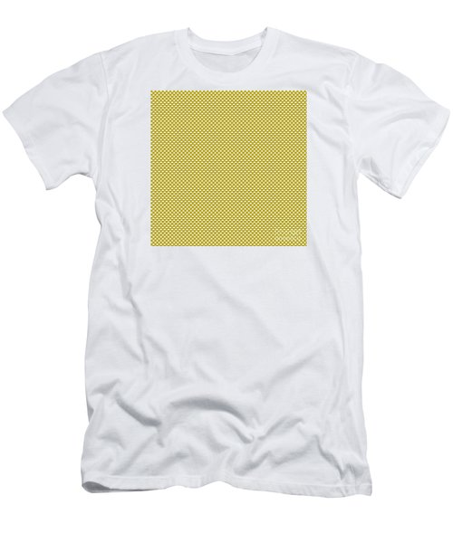 Yellow Weave Men's T-Shirt (Athletic Fit)