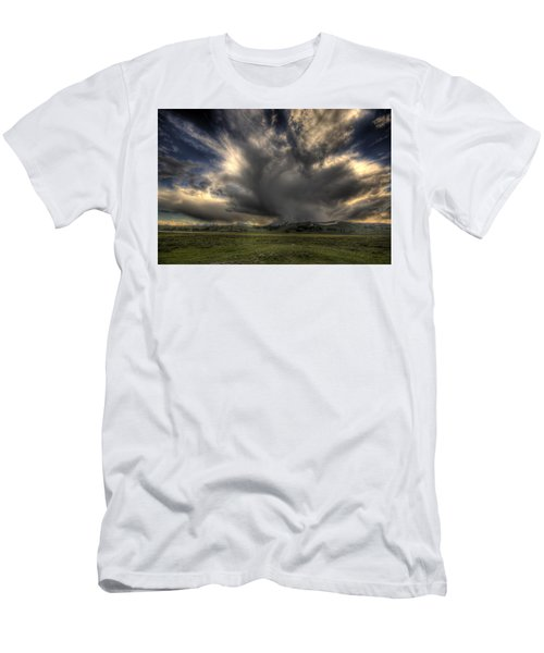 Yellowstone Storm Men's T-Shirt (Athletic Fit)