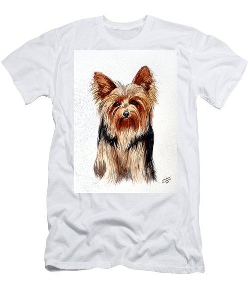 Yorkie Men's T-Shirt (Athletic Fit)