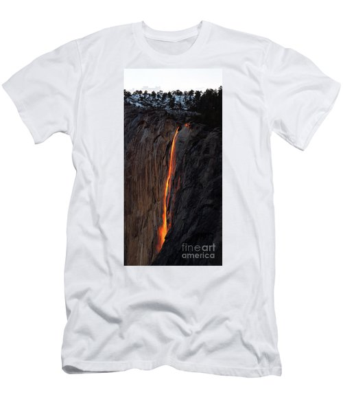 Yosemite Fire Falls - 2016 Men's T-Shirt (Athletic Fit)
