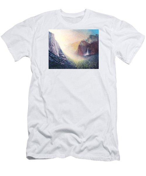 Yosemite Morning Men's T-Shirt (Slim Fit) by Douglas Castleman