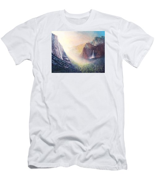 Yosemite Morning Men's T-Shirt (Athletic Fit)