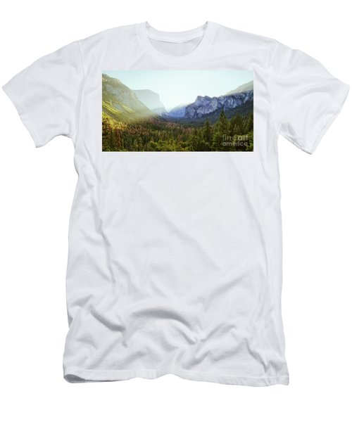 Yosemite Valley Awakening Men's T-Shirt (Slim Fit) by JR Photography