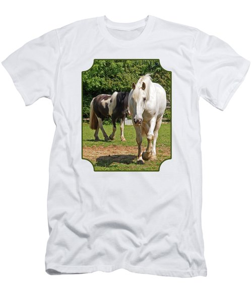 You Lead I'll Follow - Horse Friends Men's T-Shirt (Athletic Fit)