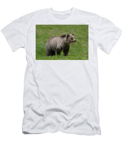 Young Grizzly Men's T-Shirt (Athletic Fit)