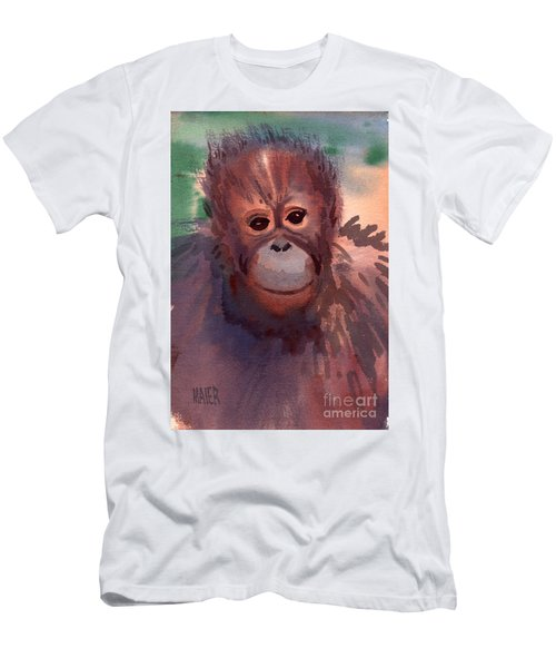 Young Orangutan Men's T-Shirt (Athletic Fit)