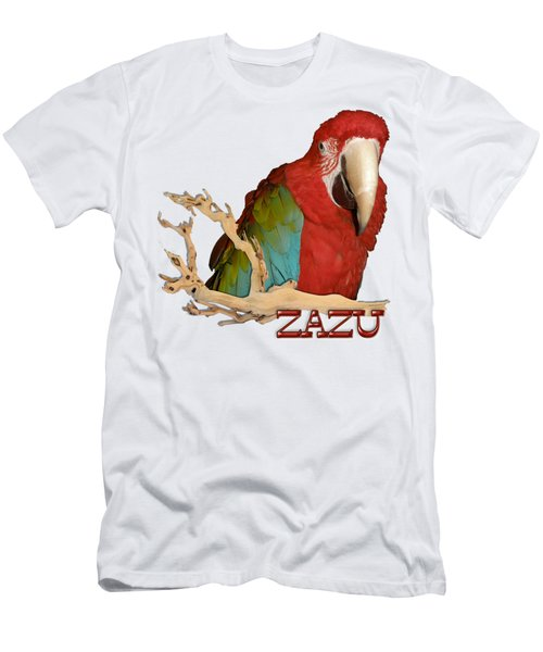 Zazu With Branch Men's T-Shirt (Athletic Fit)