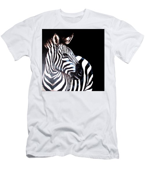 Zebra 2 Men's T-Shirt (Athletic Fit)