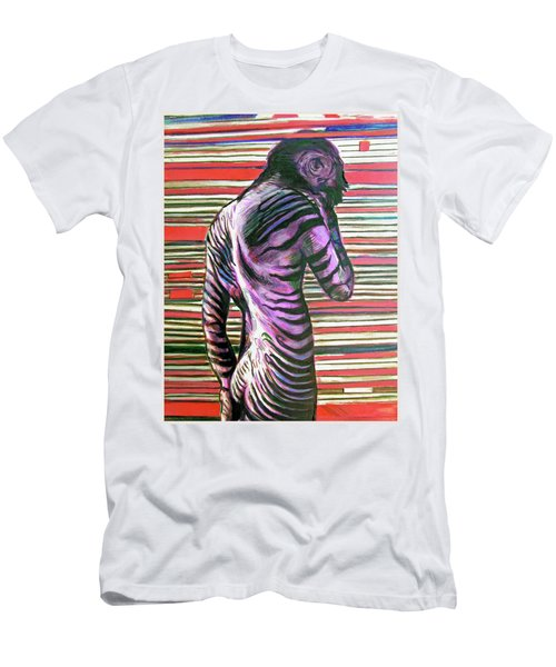 Zebra Boy Battle Wounds Men's T-Shirt (Athletic Fit)