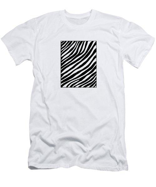 Zebra Men's T-Shirt (Slim Fit) by Konstantin Sevostyanov