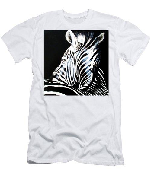 Zebra Men's T-Shirt (Athletic Fit)