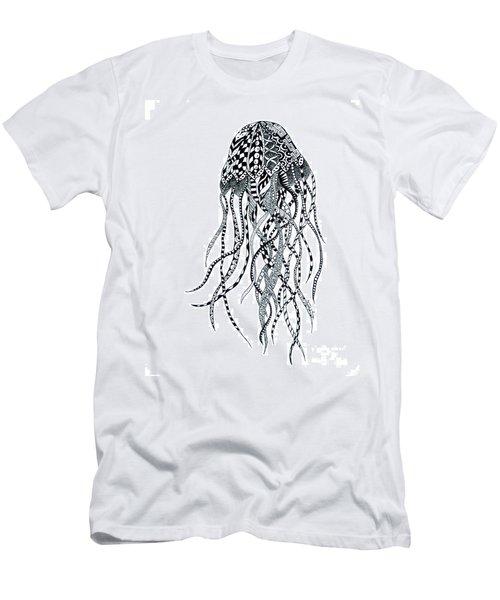 Zen Jellyfish Men's T-Shirt (Athletic Fit)