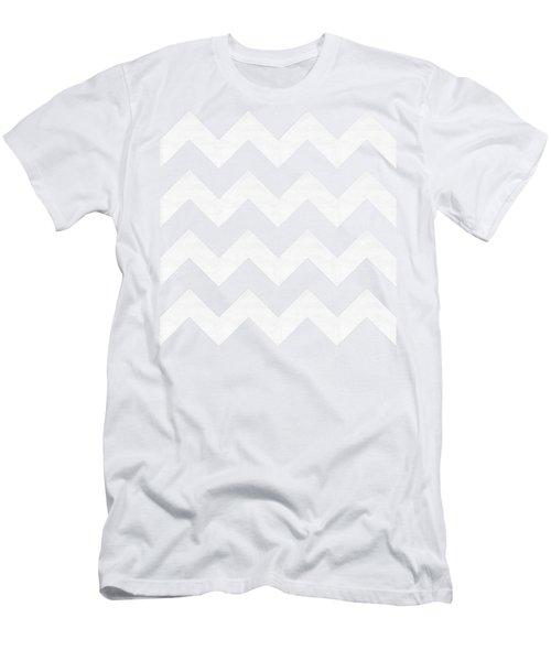 Zig Zag - White - Transparent Men's T-Shirt (Athletic Fit)