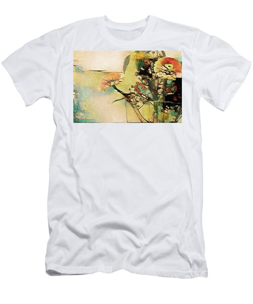 Zinnias From The Garden Men's T-Shirt (Athletic Fit)