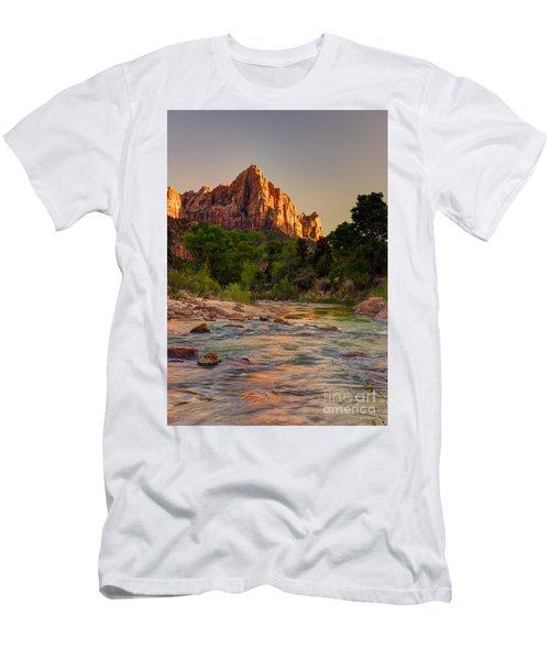 Zion Sunet Men's T-Shirt (Athletic Fit)
