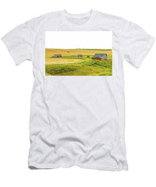 A Sign Of The Times, Run Diown Farm Out Buildings And Barns, Alb Men's T-Shirt (Athletic Fit)