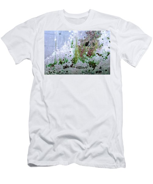 Men's T-Shirt (Athletic Fit) featuring the photograph Art Print Abstract 31 by Harry Gruenert
