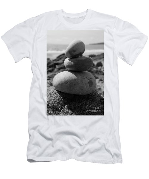 Fine Art - Pebbles Men's T-Shirt (Athletic Fit)
