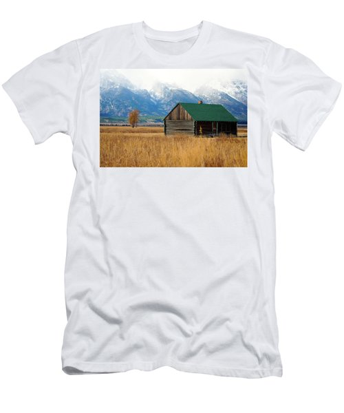 Men's T-Shirt (Athletic Fit) featuring the photograph Home On The Range by Pete Federico