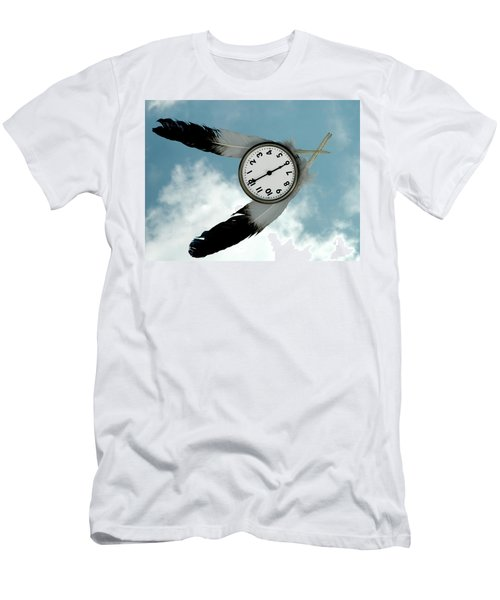 How Time Flies Men's T-Shirt (Athletic Fit)