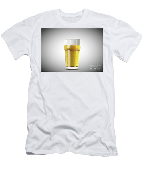 Imperial Pint Beer Men's T-Shirt (Athletic Fit)