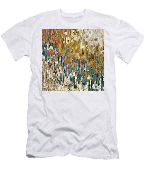 Men's T-Shirt (Athletic Fit) featuring the painting 1 John 1 7. Cleansed From All Sin by Mark Lawrence