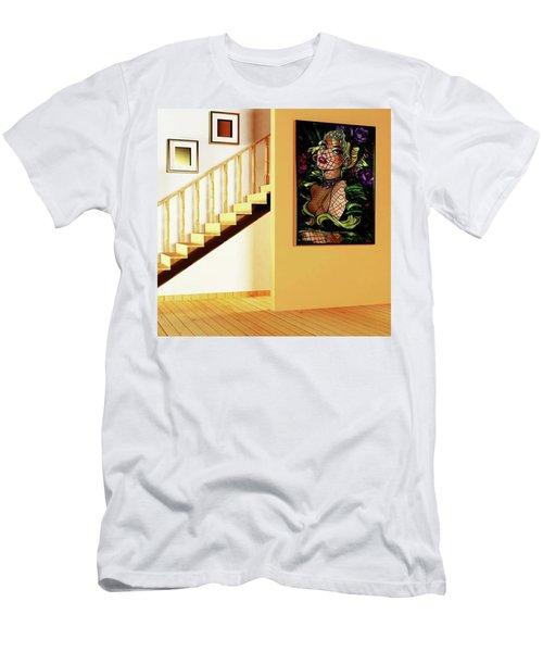 Lady Elegance Men's T-Shirt (Athletic Fit)