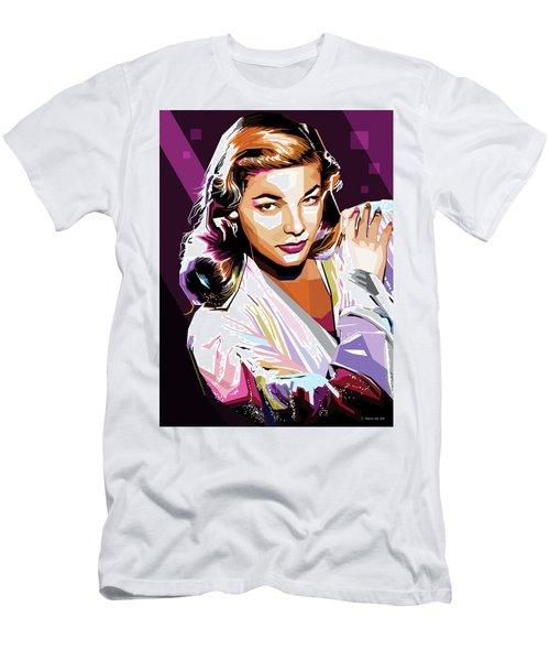 Lauren Bacall Men's T-Shirt (Athletic Fit)