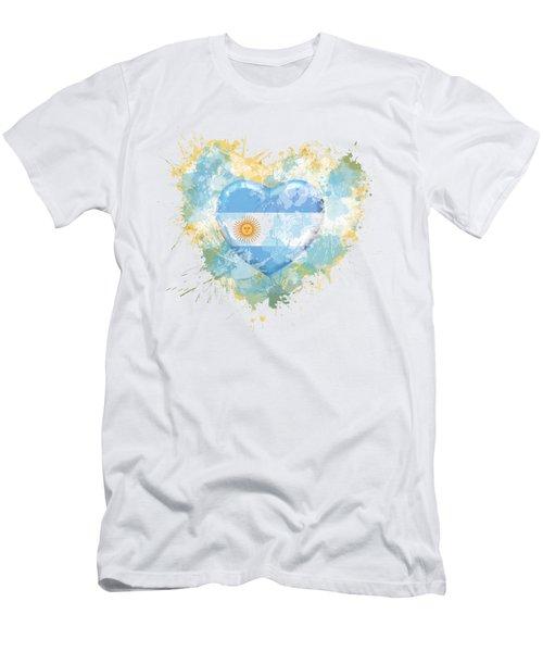 Love Argentina Men's T-Shirt (Athletic Fit)