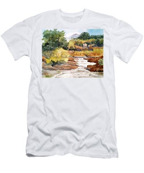 Mountain Run Off Men's T-Shirt (Athletic Fit)