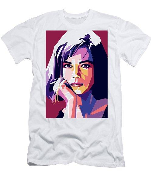Natalie Wood Men's T-Shirt (Athletic Fit)