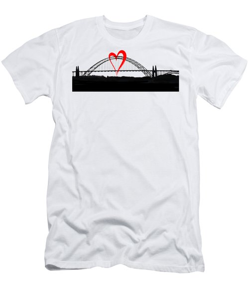 Newport Love Men's T-Shirt (Athletic Fit)