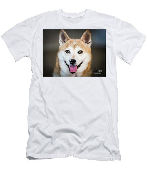 Shiba Inu Men's T-Shirt (Athletic Fit)