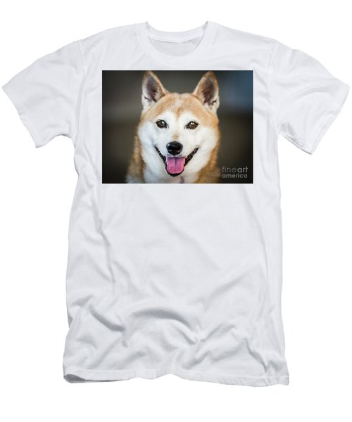 Shiba Inu Men's T-Shirt (Athletic Fit)