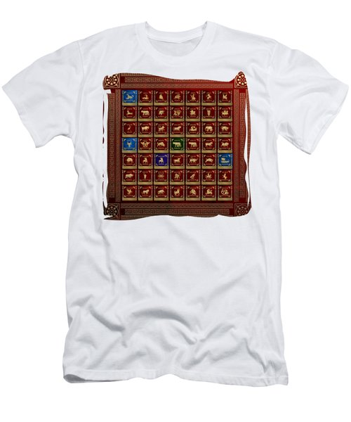 Standards Of Roman Imperial Legions - Legionum Romani Imperii Insignia Men's T-Shirt (Athletic Fit)