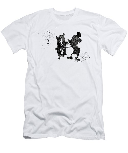 Steamboat Willie Men's T-Shirt (Athletic Fit)