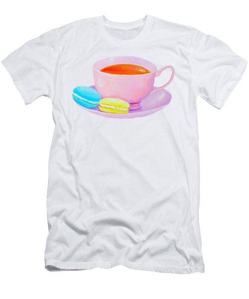 Tea And Macaroons Men's T-Shirt (Athletic Fit)