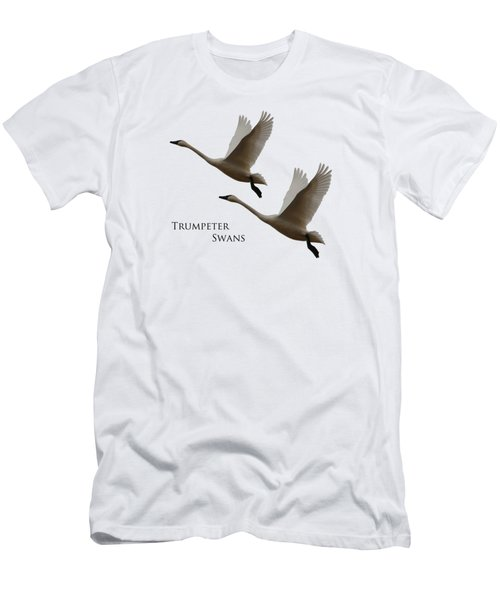 Trumpeter Swans Men's T-Shirt (Athletic Fit)