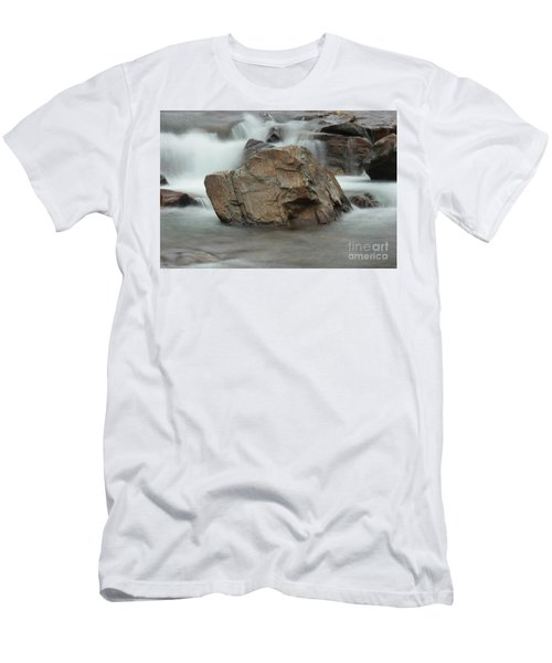 Water And Rocks Men's T-Shirt (Athletic Fit)