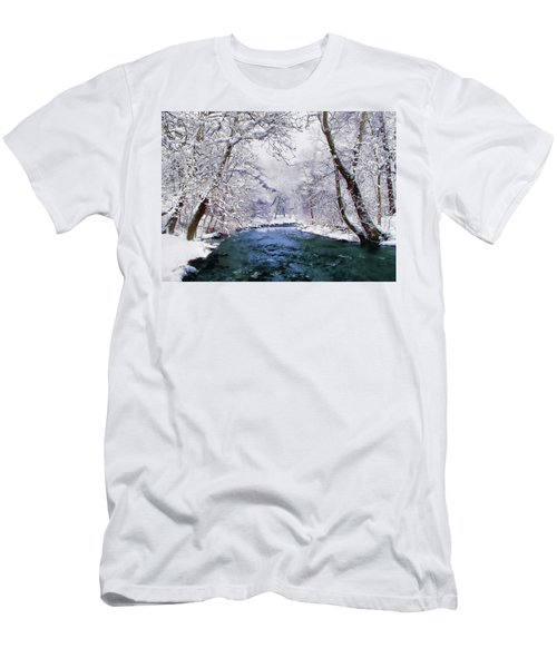 Winter White Men's T-Shirt (Athletic Fit)