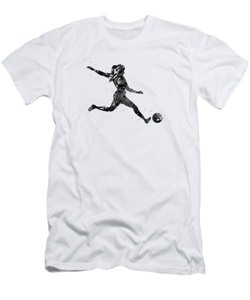 Woman Soccer Player Men's T-Shirt (Athletic Fit)