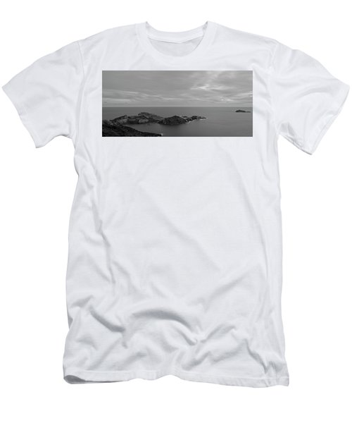 Dawn In Black And White In The Cap De Creus Men's T-Shirt (Athletic Fit)